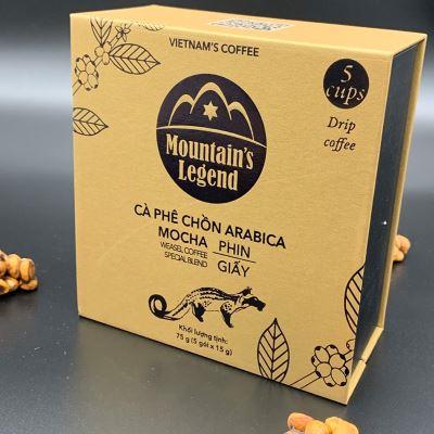 Cà phê Chồn túi lọc Arabica 75 gram