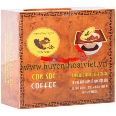 Cà phê Con Sóc ĐÔI NÂU
